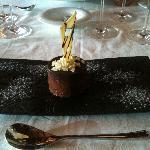 Mousse de chocolate. Maravilloso, exquisito.