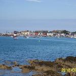 Skerries Harbour view from the patio