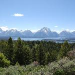 View from top of Tetons