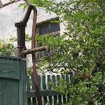pump in a garden