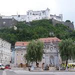 In Salzburg town