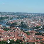 Prague town view