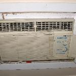 Only air conditioner in upper bedroom
