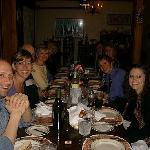 Dinner at Casa Bella--despite our huge group, Franco and Susan made everyone feel special, and t