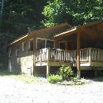 Evergreen Forest Cabins Foto