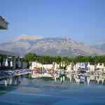 View of the Taurus Mountains