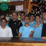 waiters and bar staff