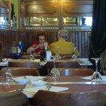 Im inneren Restaurantteil