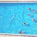 larger pool from appartment