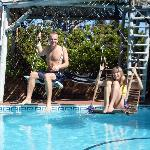 the pool ... has swings!