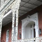 Front entry to St. Vincent's Guest House