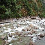 View of Urubamba River from Room