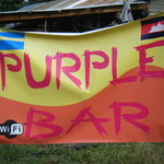 Sign for bar