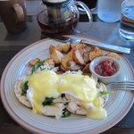 Crab Benedict at Urbane at Hyatt Olive 8
