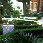 Giuseppe di Cluny, garden
