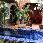 Riad dipping pool