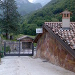 View of the entrance to the B&B da Mariangela
