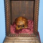 El cráneo de Papa Luna