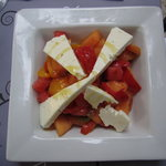 melon salad with feta cheese