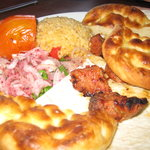 Was craving meditranian food like this we had in Istanbul Turkey, was dissapointed with Mazzah B