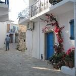 Typical street in Agios Stafanos