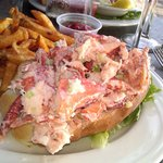 Best lobster roll ever : )