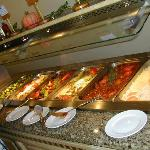 One of the three Hot buffets