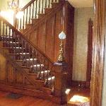 Beautiful staircase in entry