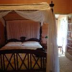 Our room, complete with ensuite and sitting room