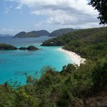 "Quick trip over to Trunk Bay ""GORGEOUS!!!!""  One of my many favorite pics."
