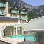 Piscine Hôtel Chez pierre D'Agos