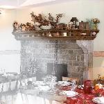 Hôtel Chez Pierre d'Agos, restaurant
