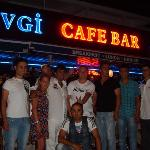sevgi bar staff on our last night