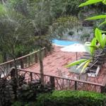Pool viewed from terrace