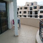 terasen,ikke alle rom hadde så stor