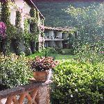 hotel rooms overlooking the garden