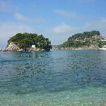 Parga town beach