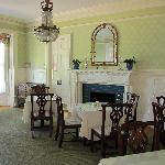 Dining area at Stanton House Inn