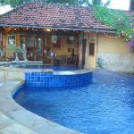 Restaurant / breakfast area and pool