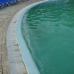 piscina muy sucia