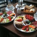 Italian breakfast at Cup Arkona