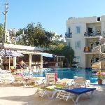 Merve aprtments and pool