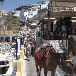 Lithos Restaurant, Thira, Santorini