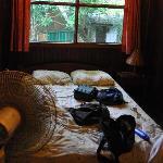 Small but clean room at Amor de Mar.