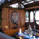 Crystal Swan's solarium interior