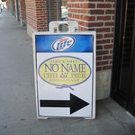 No Name Restaurant Entrance, Boston