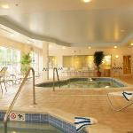 Relax in our in-door pool or hot tub all year round.