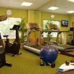 Stay in shape while traveling by taking advantage of our fitness center open 24 hours.