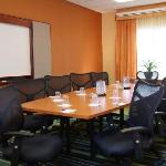 Our conference room is ideal for small meetings.