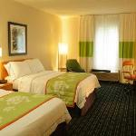 Our guest rooms with 2 double beds are great for those traveling with family or friends.